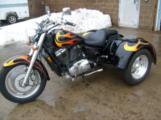 1100 shadow sabre trike conversion for Motor trikes for sale uk