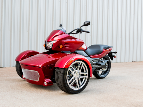 on Goldwing Motor Trike Kit