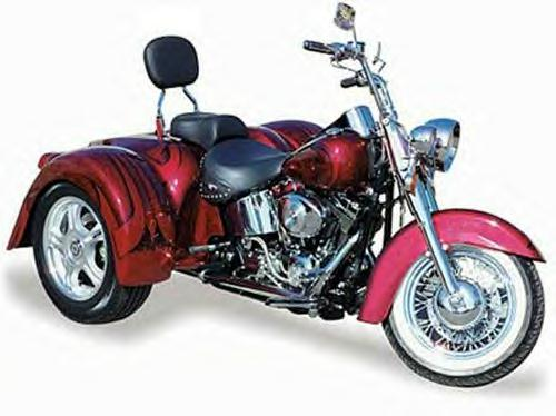 Champion Harley Davidson Ultra Classic and Softtail Trikes